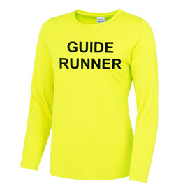 Ladies Blind Guide Runner L/S Cool T Shirt