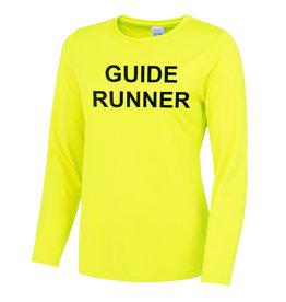 Premium Force Ladies Blind Guide Runner L/S Cool T Shirt