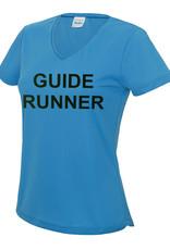 Ladies Blind Guide Runner V Neck Cool T