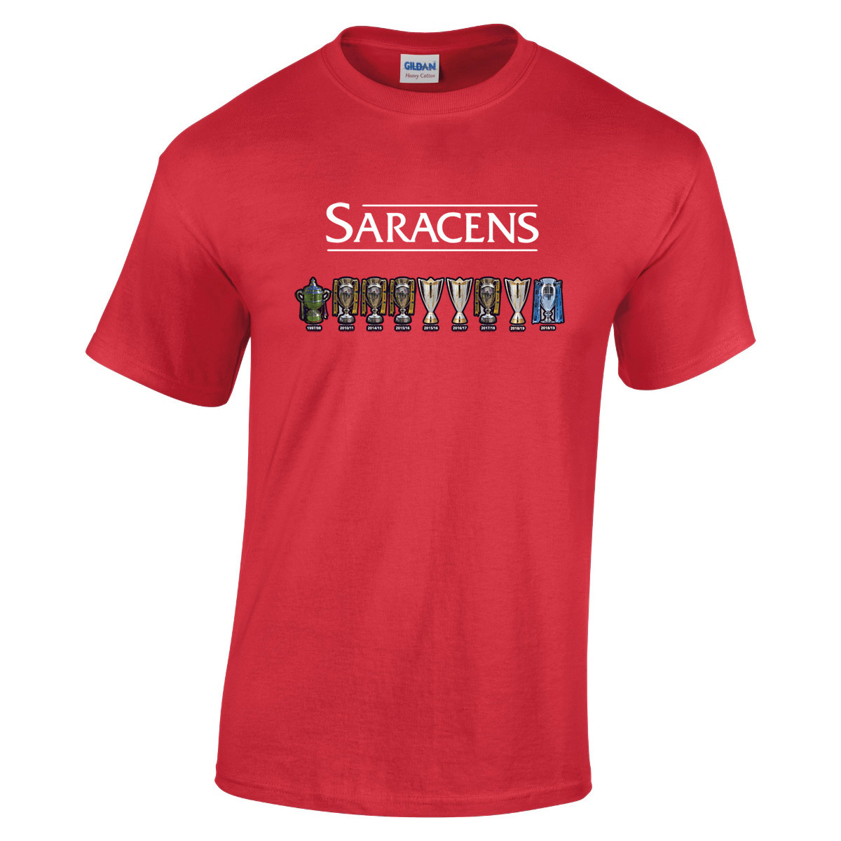 Saracens Saracens Adult Cup Line Up T Shirt