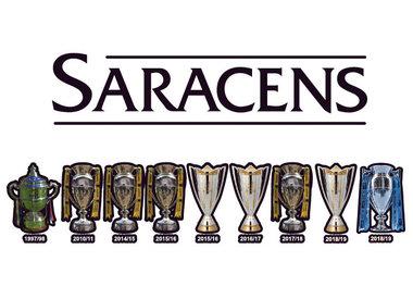 Saracens Trophy Range