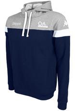 Kappa OA Junior Accio Hoodie Navy/Grey