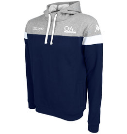 Kappa OA Junior Accio Hoodie Navy/Grey