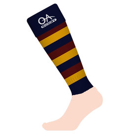 Old Albanian Senior Club Sock Snr New