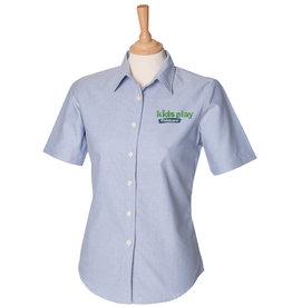 Premium Force Kids Play Ladies Childcare S/S Oxford Shirt