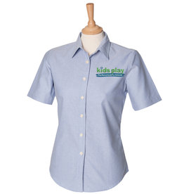 Premium Force Kids Play Ladies Day Nursery & Pre School S/S Oxford Shirt