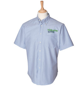 Premium Force Kids Play Mens Childcare S/S Oxford Shirt