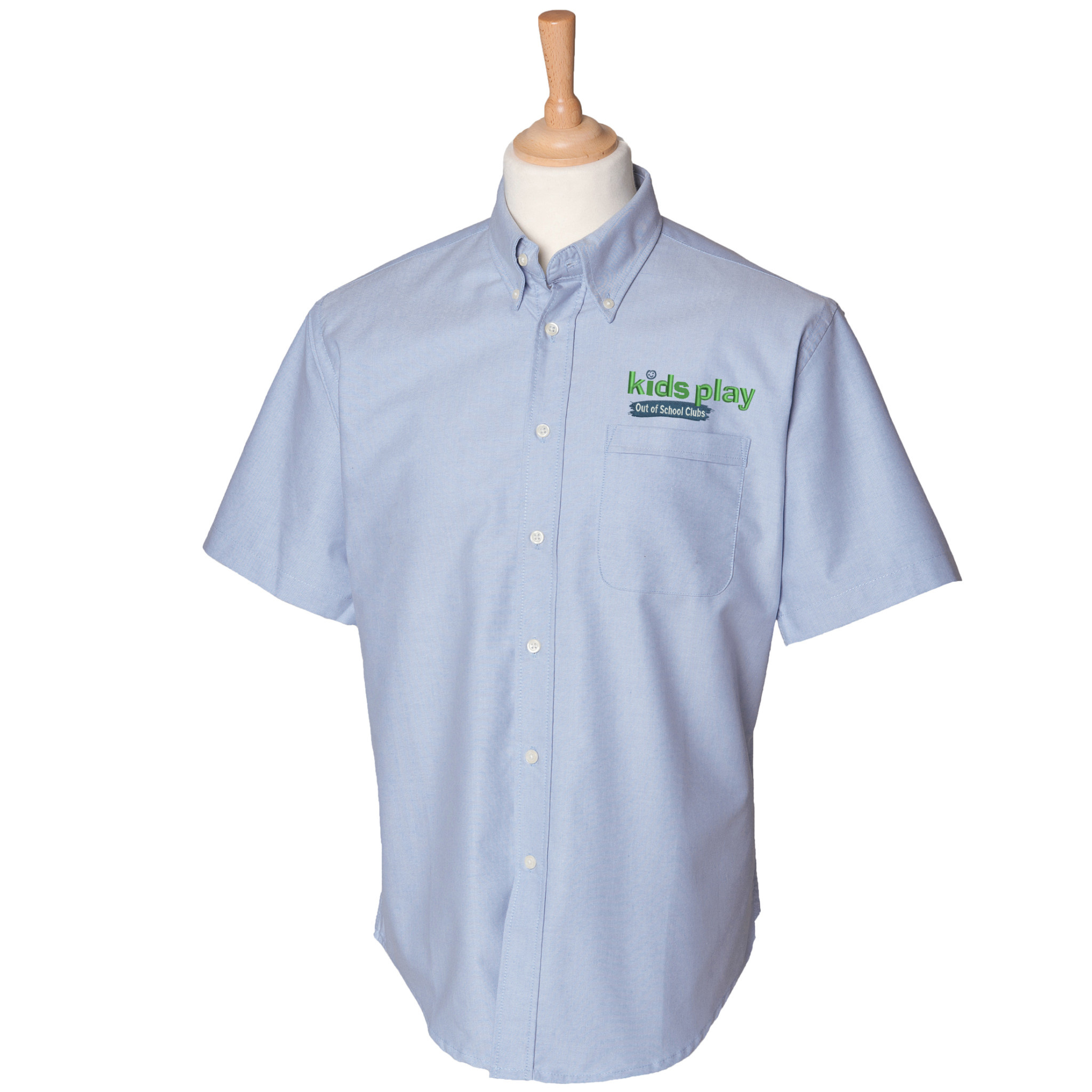 Premium Force Kids Play Mens Out Of School Club S/S Oxford Shirt