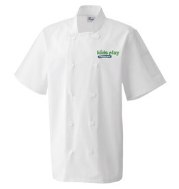 Premium Force Kids Play Adults Childcare S/S Chefs Jacket