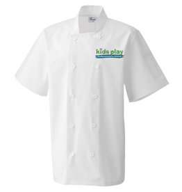Premium Force Kids Play Adults Day Nursery & Pre School S/S Chefs Jacket