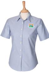 Mead Farm Nursery Ladies S/S Oxford Shirt