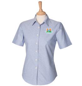 Premium Force Mead Farm Nursery Ladies S/S Oxford Shirt