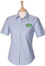 Premium Force Willows Nursery Ladies S/S Oxford Shirt