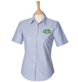 Premium Force Willows Nursery Ladies S/S Oxford Shirt