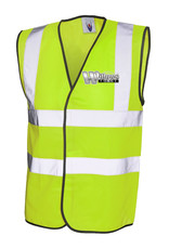 Willows Forge Hi Vis Vest Yellow