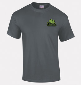 Webbs Gardens T Shirt Charcoal Grey