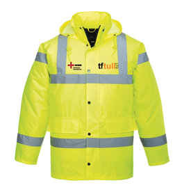 TFTull Hi Viz Traffic Jacket