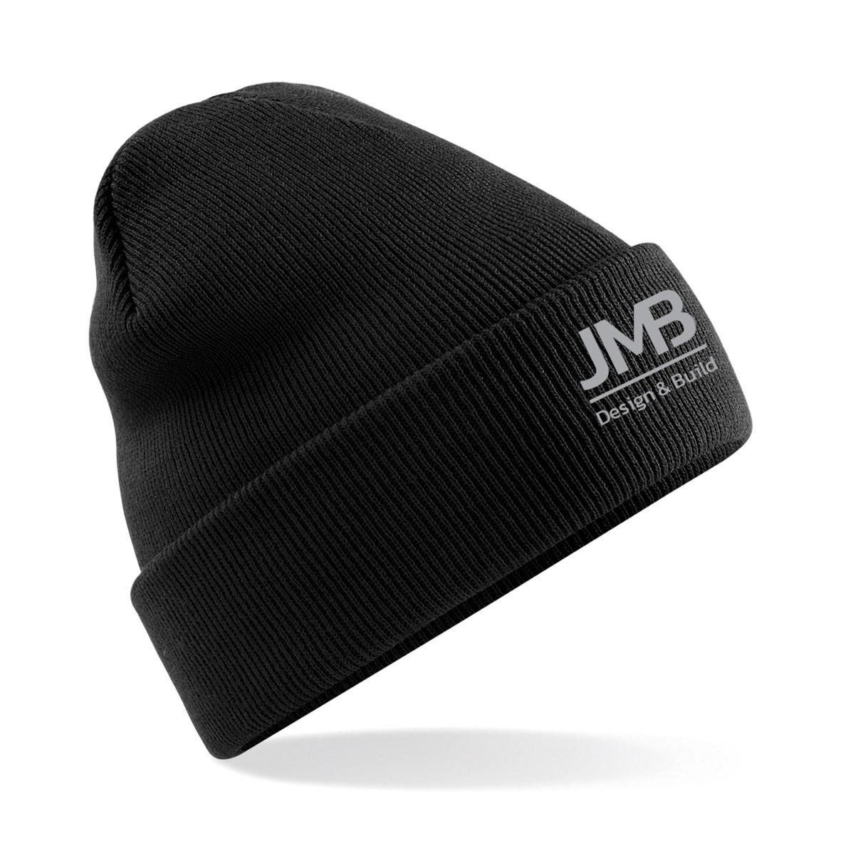 JMB Adults Knitted Turn Up Beanie