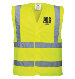 Premium Force DRC Roofing Adults Hi Vis Vest