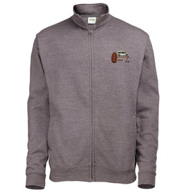 Premium Force Bod Bus Adults Full Zip Sweatshirt