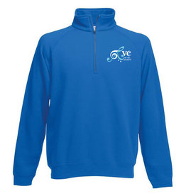 Premium Force RVC Music Society 80/20 Zip Neck Sweatshirt