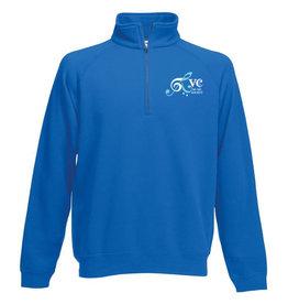 RVC Music Society 80/20 Zip Neck Sweatshirt