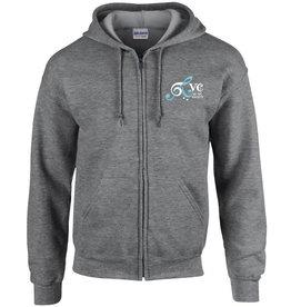 Premium Force RVC Music Society Full Zip Hooded Sweatshirt