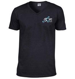 RVC Music Society Softstyle V Neck T Shirt