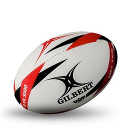 Gilbert G-TR 3000 Rugby Ball RED Size 3