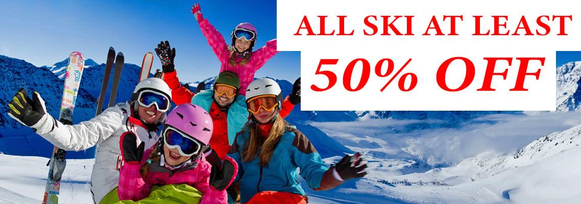 50% OFF Ski & Winter