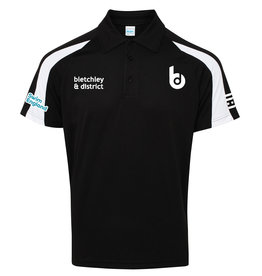 Bletchley SC Adults Contrast Cool Polo