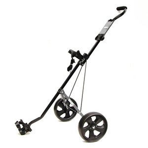 FastFold FastFold Basic Aluminium 2-wheel Golf trolley - Black