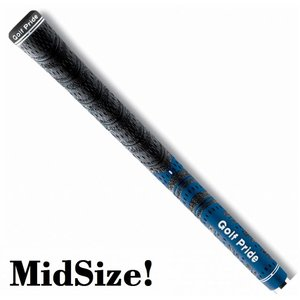 GolfPride GolfPride New Decade MultiCompound MIDSIZE Grip - Blauw Zwart