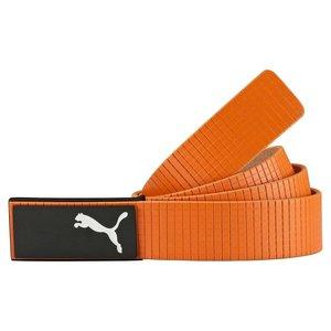 Puma Extension Leather Belt - Orange