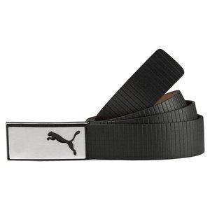 Puma Extension Belt Lederen Broekriem - Zwart
