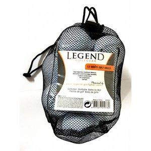 Legend Legend Distance Golfballen - Dozijn / 12 stuks - Wit