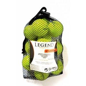 Legend Distance Golfbal Geel - Dozijn / 12 stuks