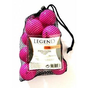 Legend Distance Golfballen - Dozijn / 12 stuks - Roze
