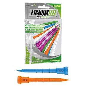 Lignum Lignum Tees 82 mm (12 stuks) - Mix Ladies