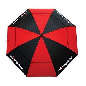 Clicgear Clicgear 68 inch Double Canopy Golfparaplu - Rood Zwart