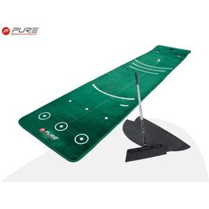 Pure 2 Improve Dual Grain Putting Mat Met Bezem