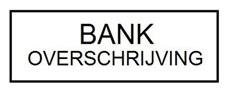 Bankoverschrijving vooraf