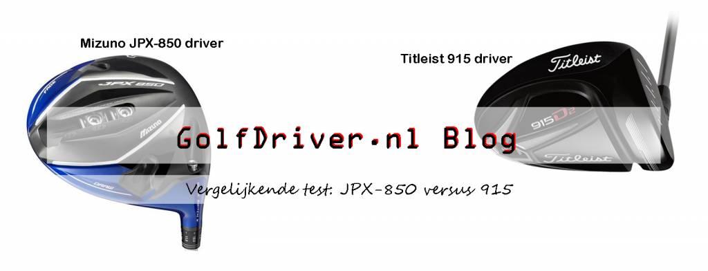 Drivertest: Mizuno JPX-850 v Titleist 915 D3