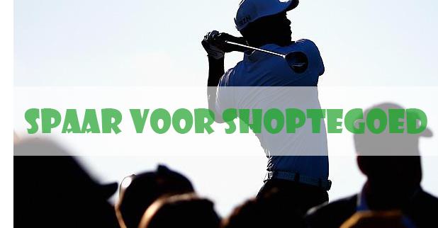 Spaar voor shoptegoed op GolfDriver.nl