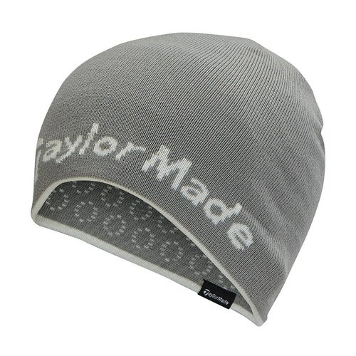 TaylorMade Reversable Ladies Beanie - Grijs Wit