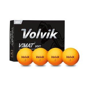 Volvik Volvik Vimat Golfballen - Dozijn / 12 stuks - Oranje