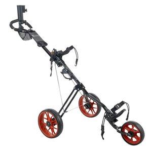 Cougar Track Golftrolley - Zwart  Rood