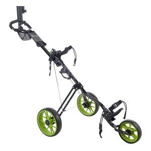 Cougar Cougar Track Golftrolley - Zwart  Groen