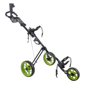 Cougar Track Golftrolley - Zwart  Groen