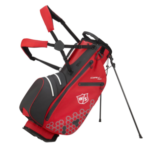 Wilson Staff Dry Tech II  Waterproof Standbag - Rood Zwart